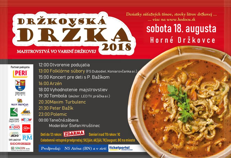 LIVE prenos Drzkovska Drzka